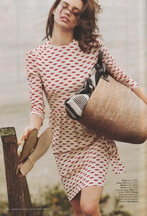 Съёмка: Рианне Тен Хакен для Harper's Bazaar. Изображение № 2.