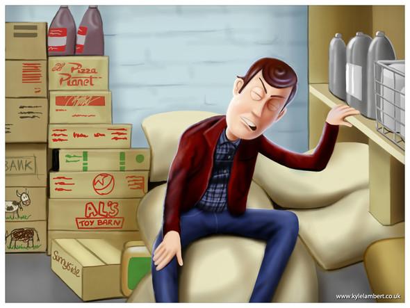 «История игрушек» в «Сиянии» Стенли Кубрика. Изображение № 18.