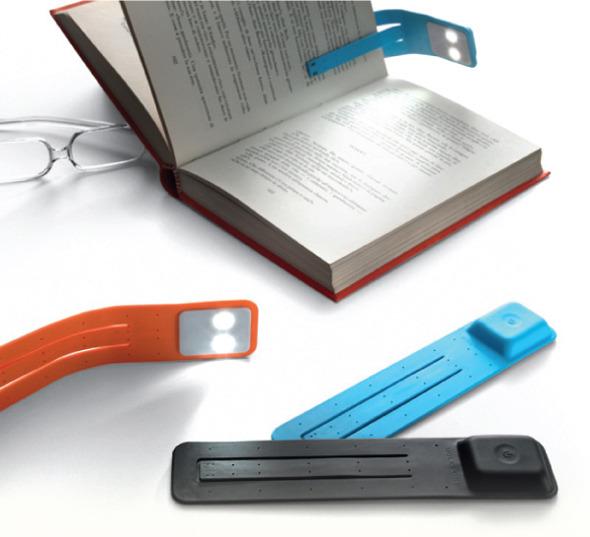 Цветные светильники для чтения Moleskine. Изображение № 1.