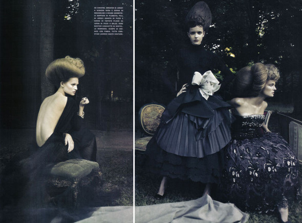 A Dream Of A Dress. Vogue Italia September 2009. Изображение № 6.