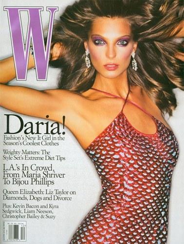 Daria Werbowy, её визитная карточка-разрез глаз. Изображение № 4.