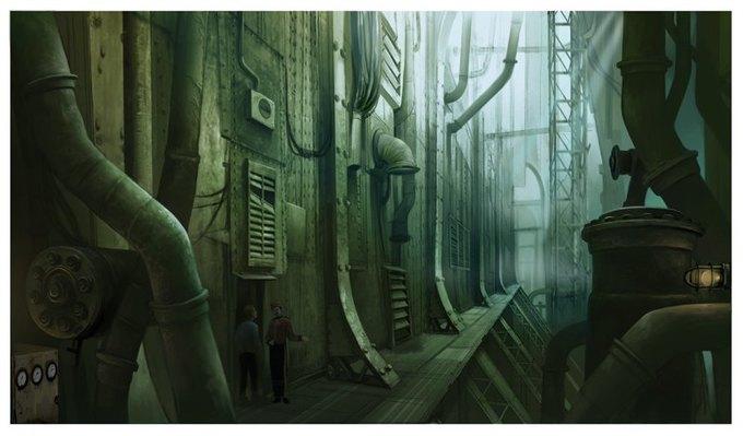 Опубликованы концепт-арты экранизации Bioshock. Изображение № 3.