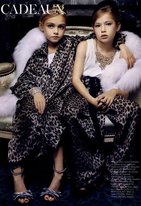 Маленькие модели в Vogue Paris. Изображение № 3.