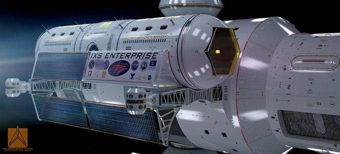 Опубликован концепт корабля NASA с варп-двигателем . Изображение № 4.