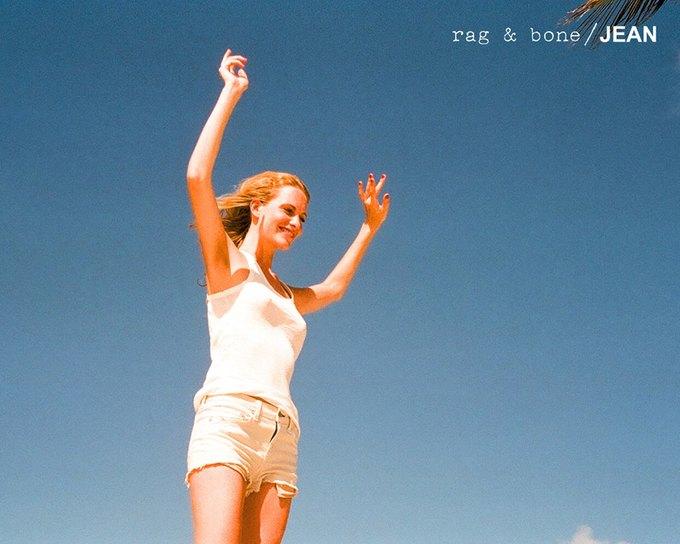 Камила Роу сняла Поппи Делевинь для Rag & Bone. Изображение № 3.
