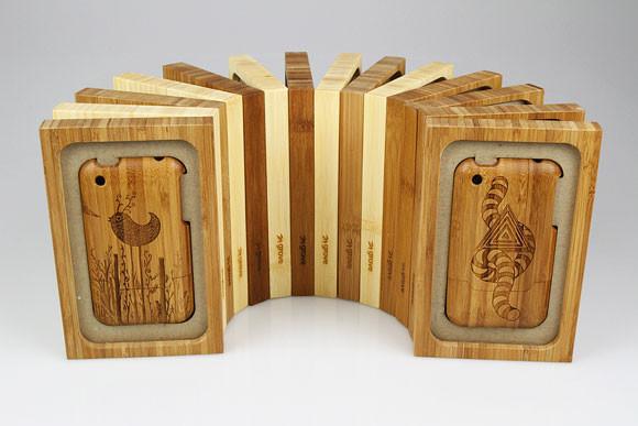 Деревянные корпуса для iPhone. Изображение № 7.