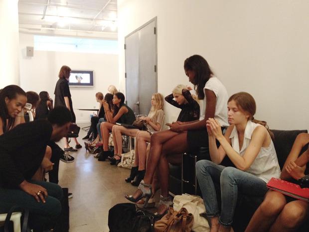 Дневник модели: Эксклюзив для Proenza Schouler на Нью-Йоркской неделе моды. Изображение № 21.