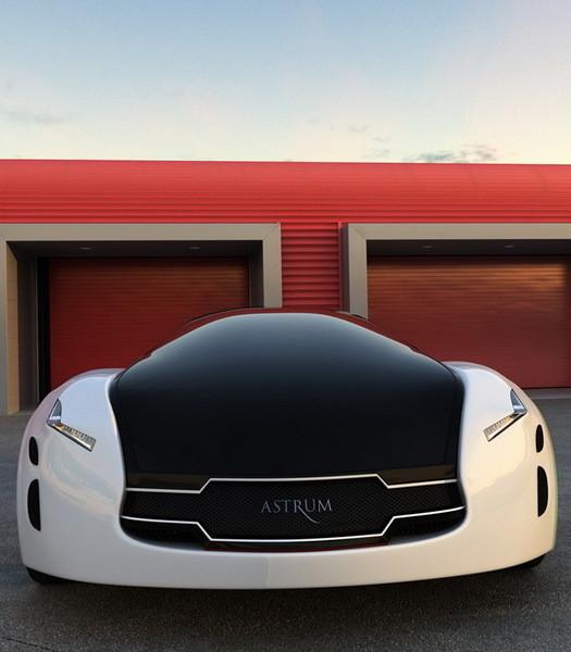 Astrum Meera - проект очень красивого автомобиля со многочисленными нововведениями. Изображение № 9.