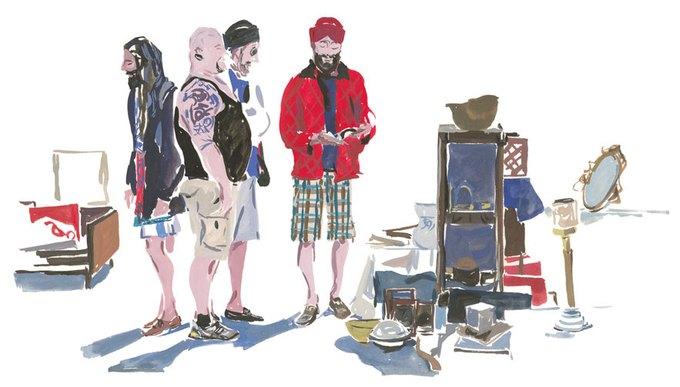 Louis Vuitton выпустили книги о путешествиях с иллюстрациями. Изображение № 12.