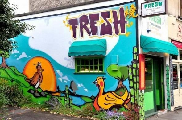 Изображение 14. Бристоль. Художественное граффити.. Изображение № 16.