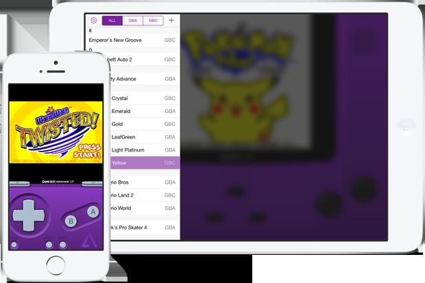 Выпущен новый эмулятор Game Boy для iOS 7. Изображение № 1.