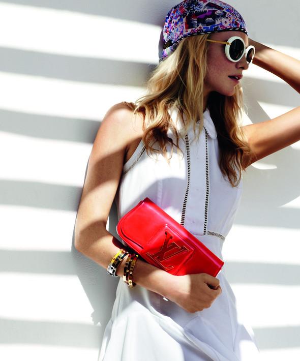 Лукбук: Поппи Делевинь для Louis Vuitton Summer 2012. Изображение № 8.