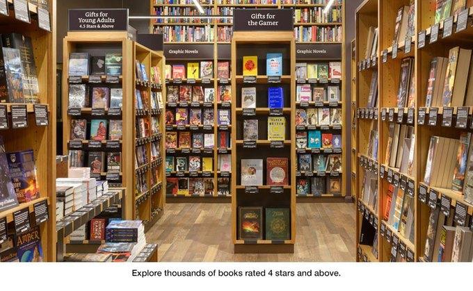 Amazon открыла книжный магазин в Сиэтле. Изображение № 1.