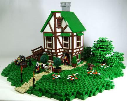 48 креативных LEGO творений. Изображение № 31.