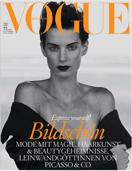 Обложки: Vogue, Acne Paper, Another Man и другие. Изображение № 2.