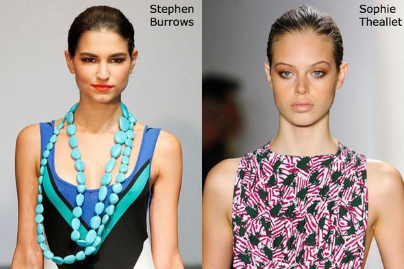 Модные причеси с показов NYFW весна-лето 2012. Изображение № 8.