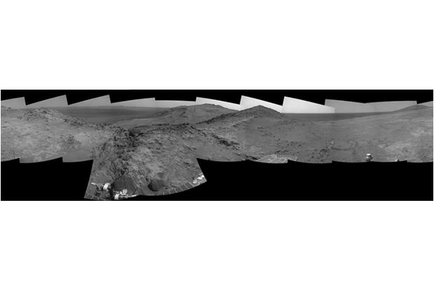 Панорама Марса до обработки. Изображение № 4.