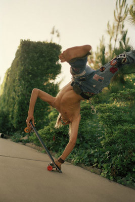 Hugh Holland. Скейтборд-хроники 70-х. Изображение № 11.