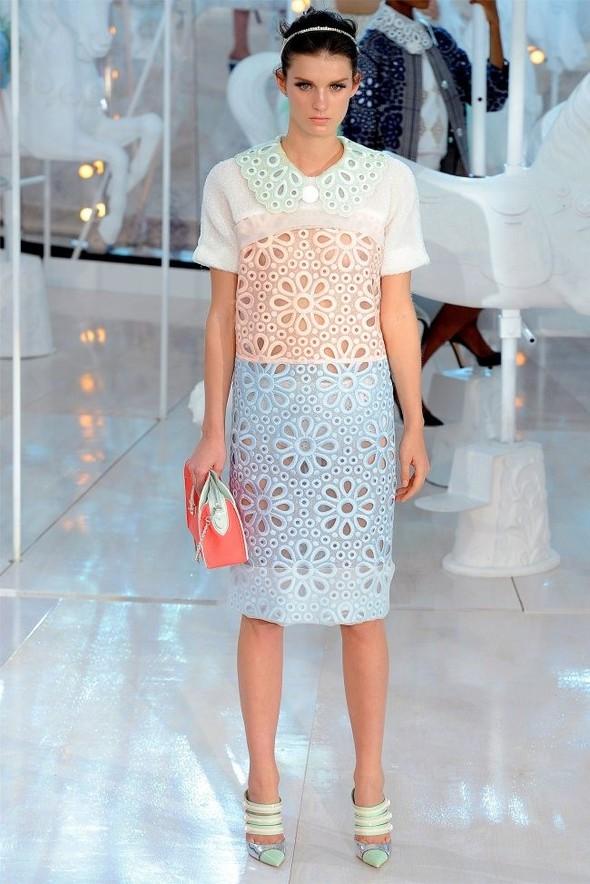 Неделя моды в Париже: Louis Vuitton весна 2012. Изображение № 9.