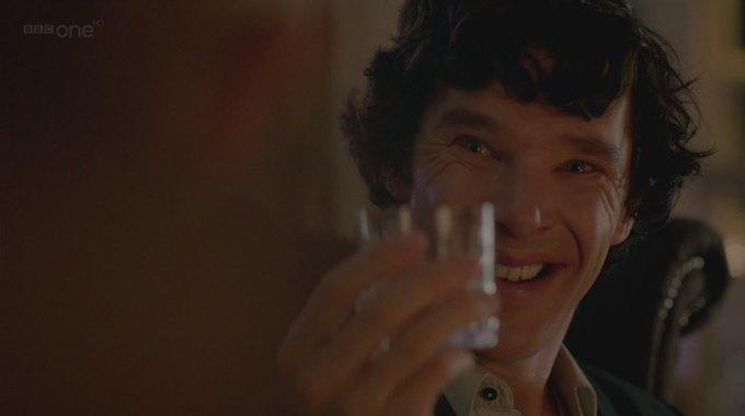 Бенедикт Камбербэтч  выпивает. Изображение № 14.