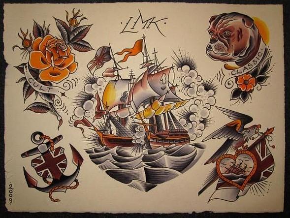 Tattoo Flash. Изображение № 7.