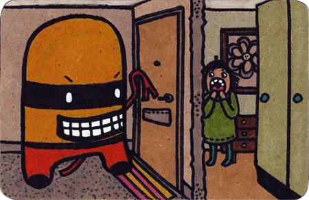 Милые уродцы виллюстрациях Sandra Juto. Изображение № 6.