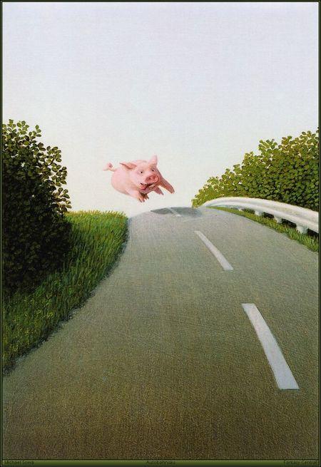 Немецкий художник-иллюстратор Michael Sowa. Изображение № 5.