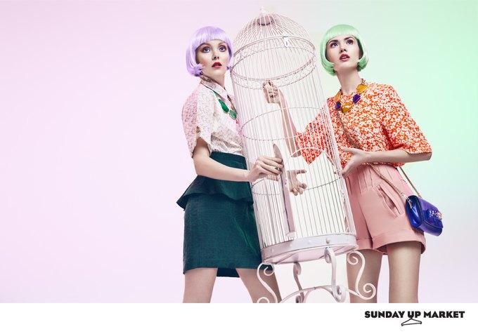 Вышли лукбуки Sultanna Frantsuzova и Sunday Up Market. Изображение № 7.