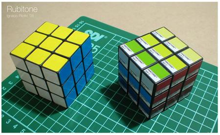 Рубитон (кубик Рубика Pantone). Изображение № 2.