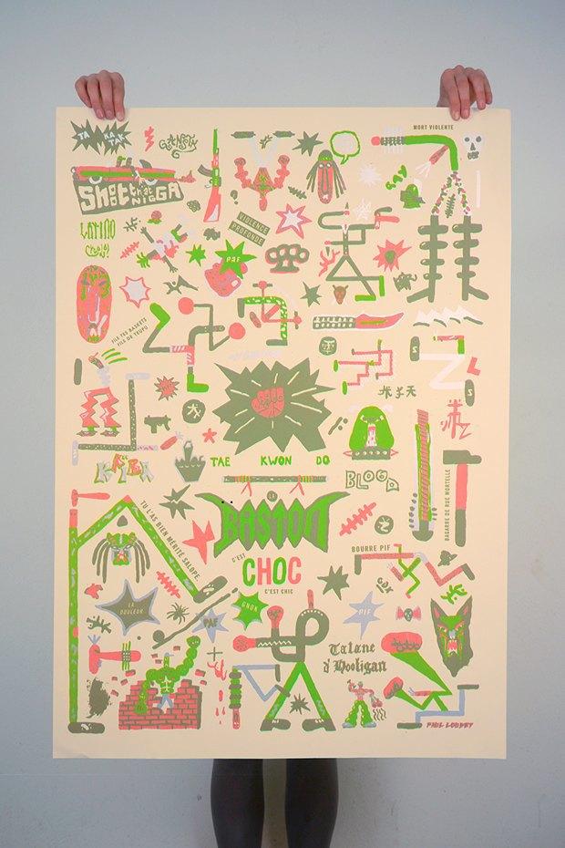 50 постеров, которые вдохновляют заняться шелкографией. Изображение № 39.