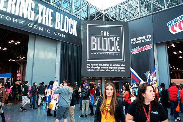 Как прошёл гик-фестиваль NYC Comic-Con  в Нью-Йорке. Изображение № 7.