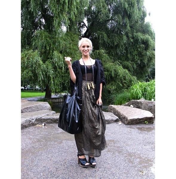 Луки с недель моды в Копенгагене и Стокгольме. Изображение № 37.