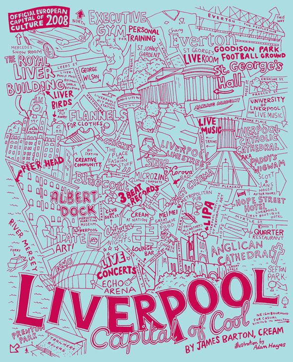 Карта Ливерпуля. Изображение № 9.