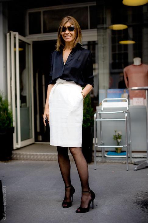 Уличный стиль на Неделе высокой моды в Париже. Изображение № 128.