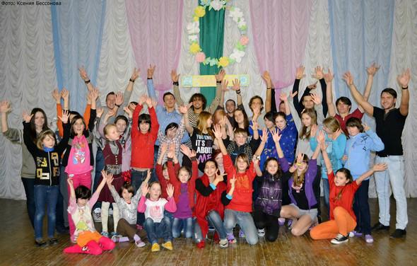 """Артисты театра """"Искушение"""" выступили для детишек из детского дома!. Изображение № 20."""