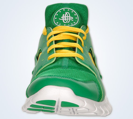 Nike Huarache Free 2012 – Court Green – White – Tour Yellow. Изображение № 7.