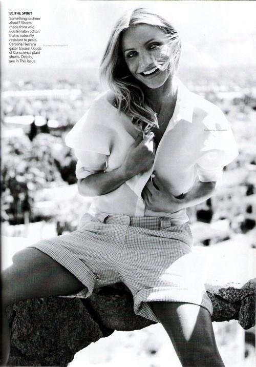 Cameron Diaz, Vogue USJune 2009. Изображение № 7.