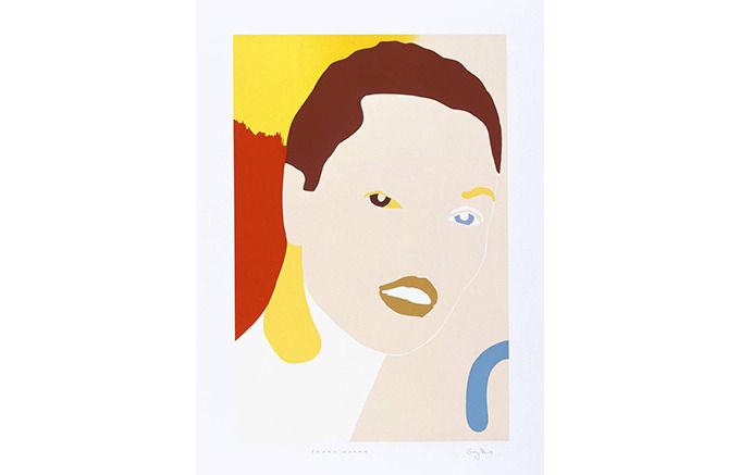 Gary Hume, Young Woman,1998 . Изображение № 11.