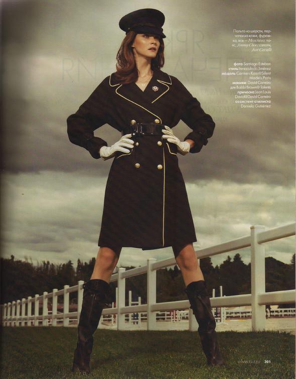 Съёмка: Кармен Касс для российского Elle. Изображение № 10.
