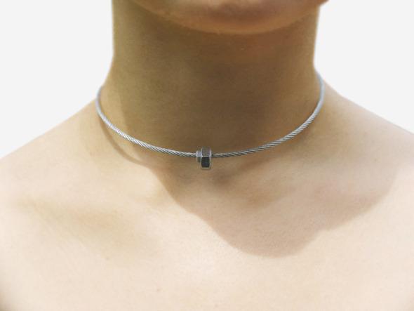 Ожерелья из цепей гаек и сантехнического шнура. Часть1. Изображение № 8.