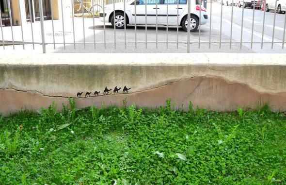 Лучшие стрит-арт проекты 2011 года. Изображение №14.