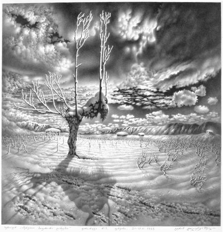 Нарисованный снег, который можно потрогать. Изображение № 6.