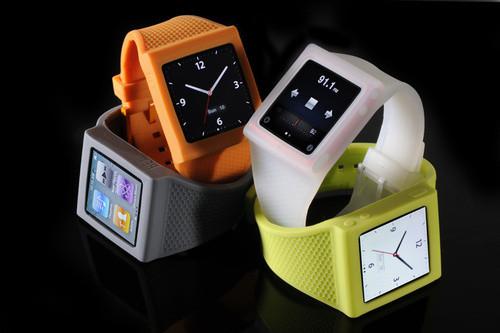 Элегантное превращение iPod nano в эффектные наручные часы. Изображение № 8.