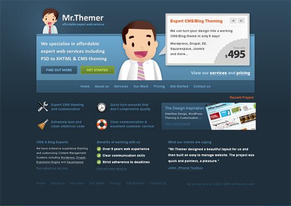 Персонажи в дизайне сайтов. Изображение № 32.