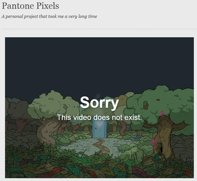 У Vimeo потребовали удалить все видео с названием «Пиксели» . Изображение № 2.