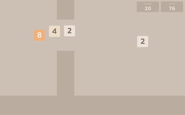 Игры Flappy Bird и «2048» встретились. Изображение № 1.