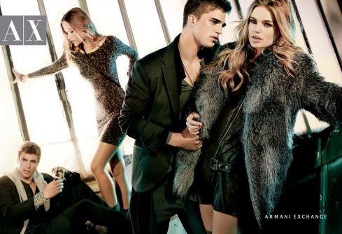 Кампания: Armani Exchange FW2011. Изображение № 2.