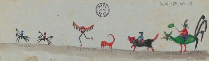 Фото: рисунки детей Дарвина на страницах «Происхождения видов». Изображение № 6.