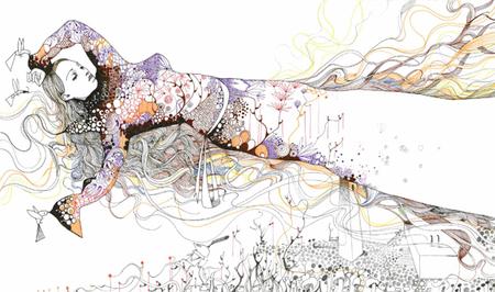 Иллюстрации Дэйвида Брэя грация исексуальный подтекст. Изображение № 3.