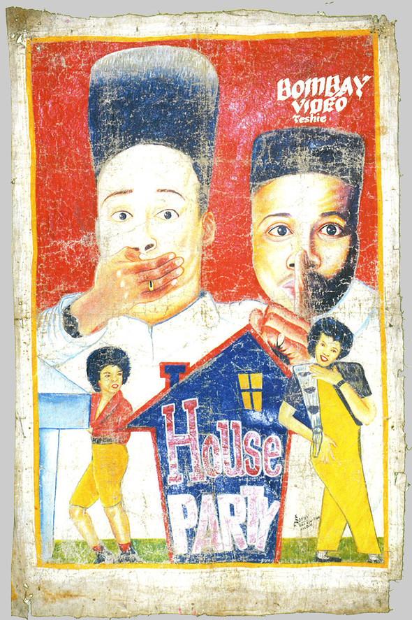 Кинопостеры из Ганы: уникальный примитивизм. Изображение № 7.